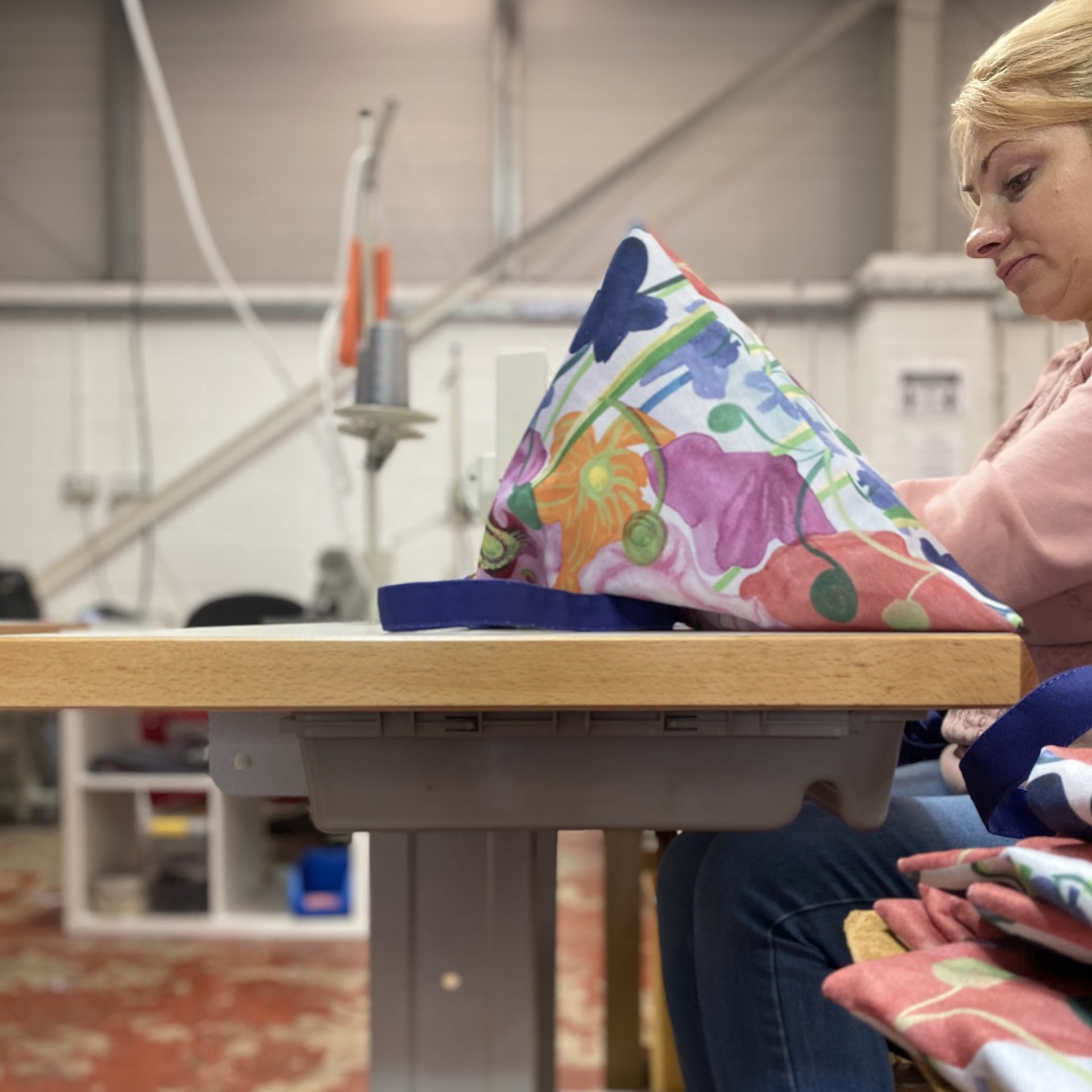 bespoke textile sewing and cutting
