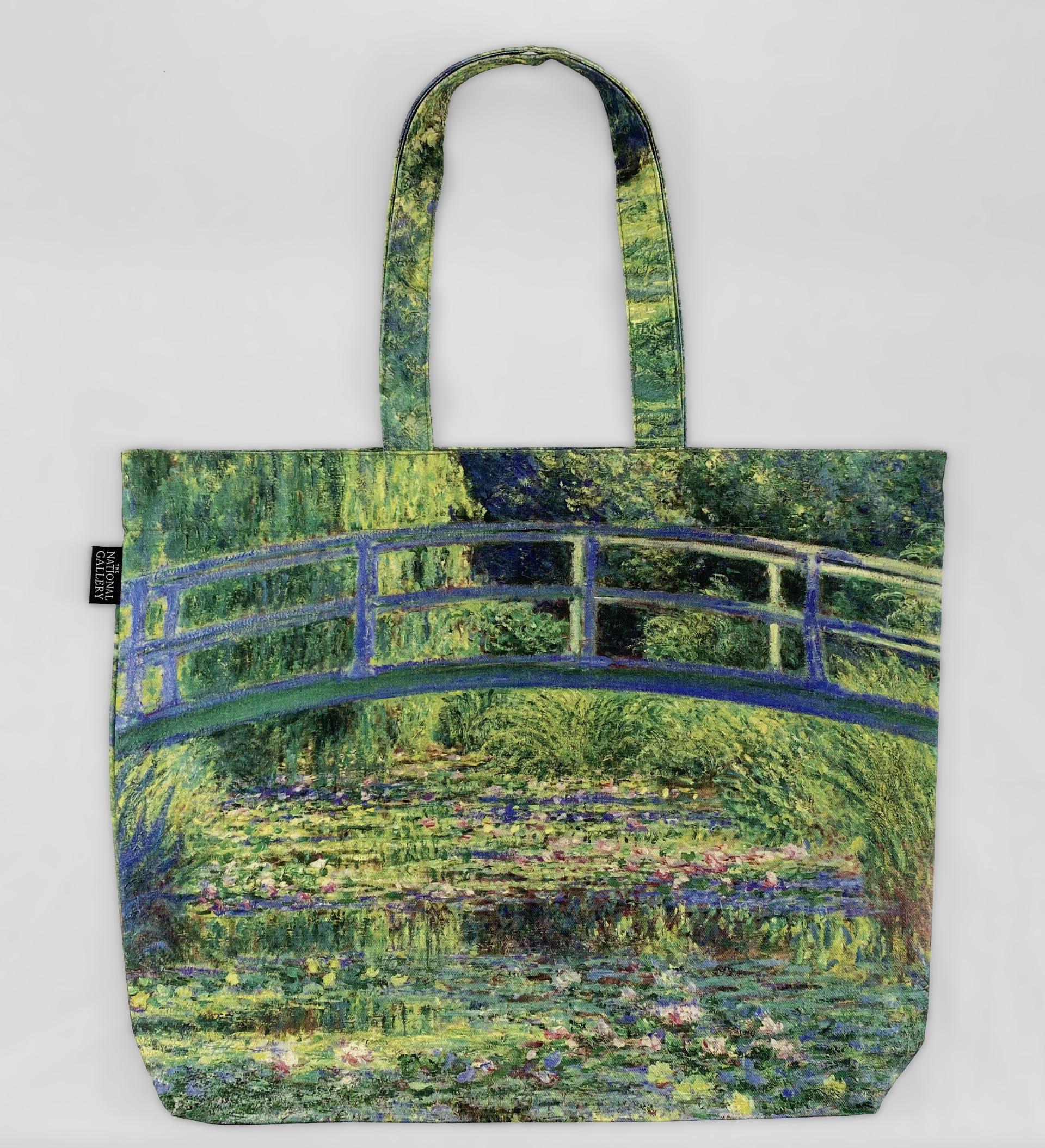 Claude Monet Water-Lily Pond tote bag