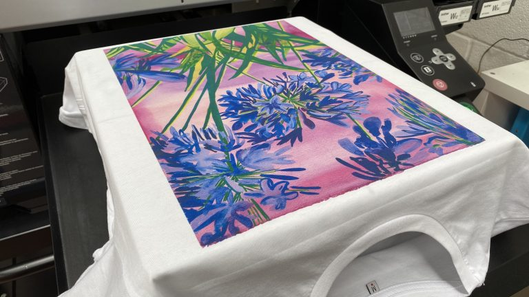 We offer an array of fabric printing services including direct to garment printing