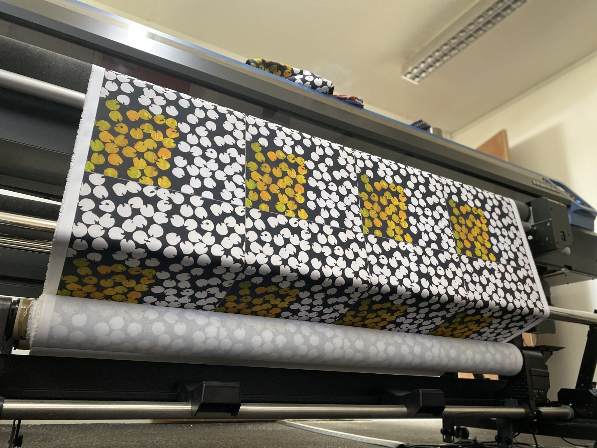 Digital Printing for Pompidou Centre textile products by Paul Bristow