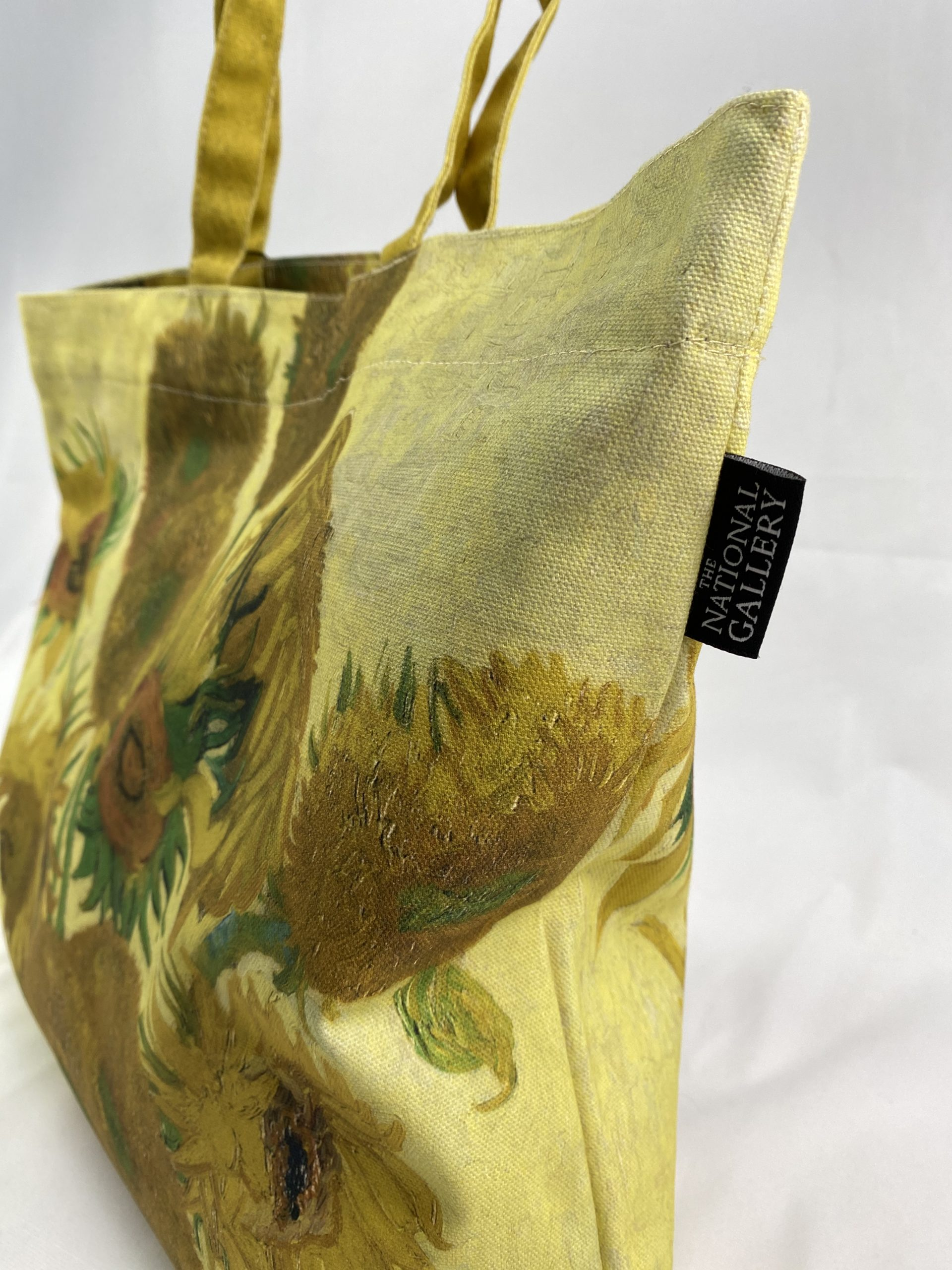 National Gallery Sunflowers printed tote bag