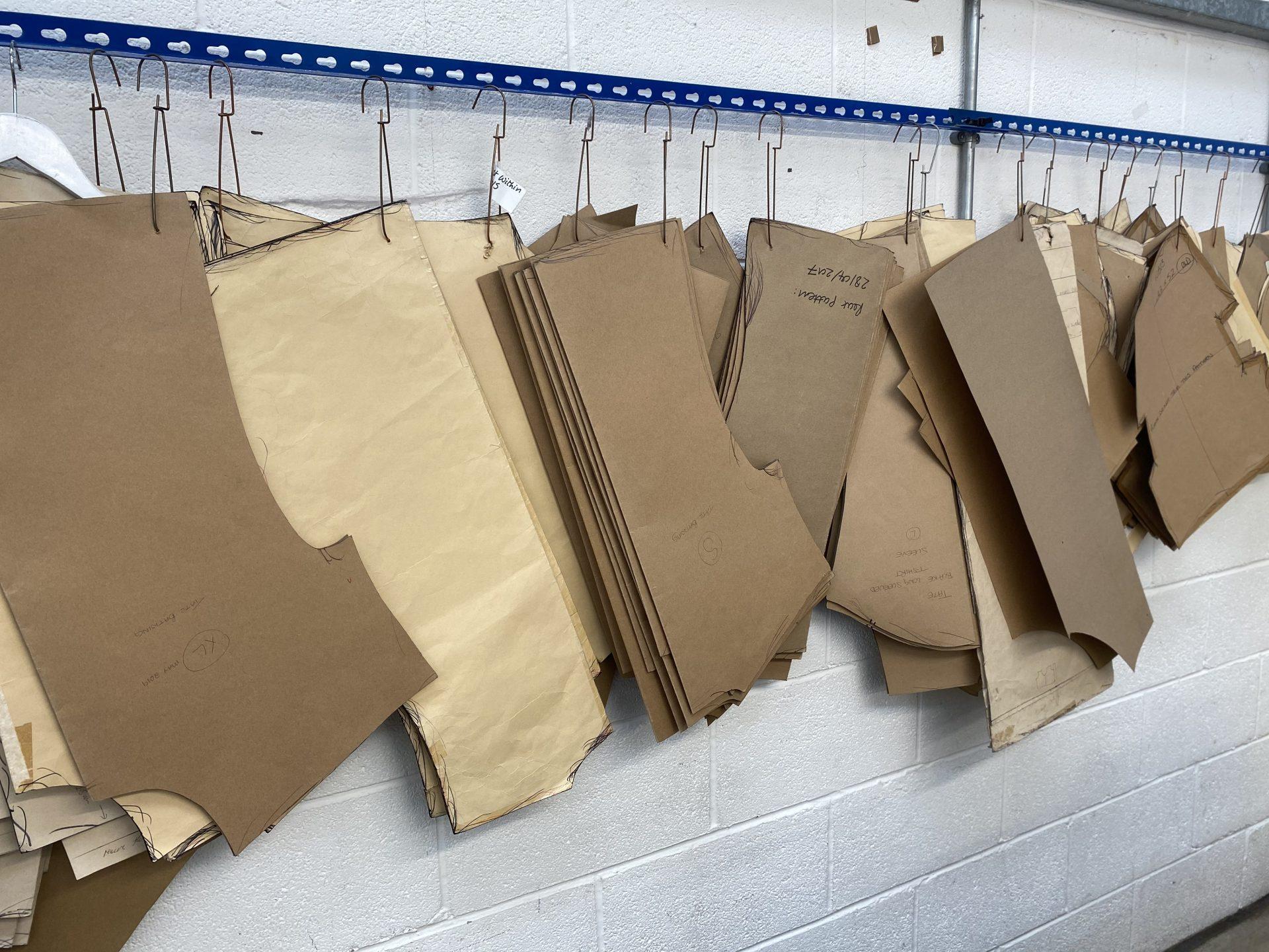Pattern making by Paul Bristow UK manufactuer