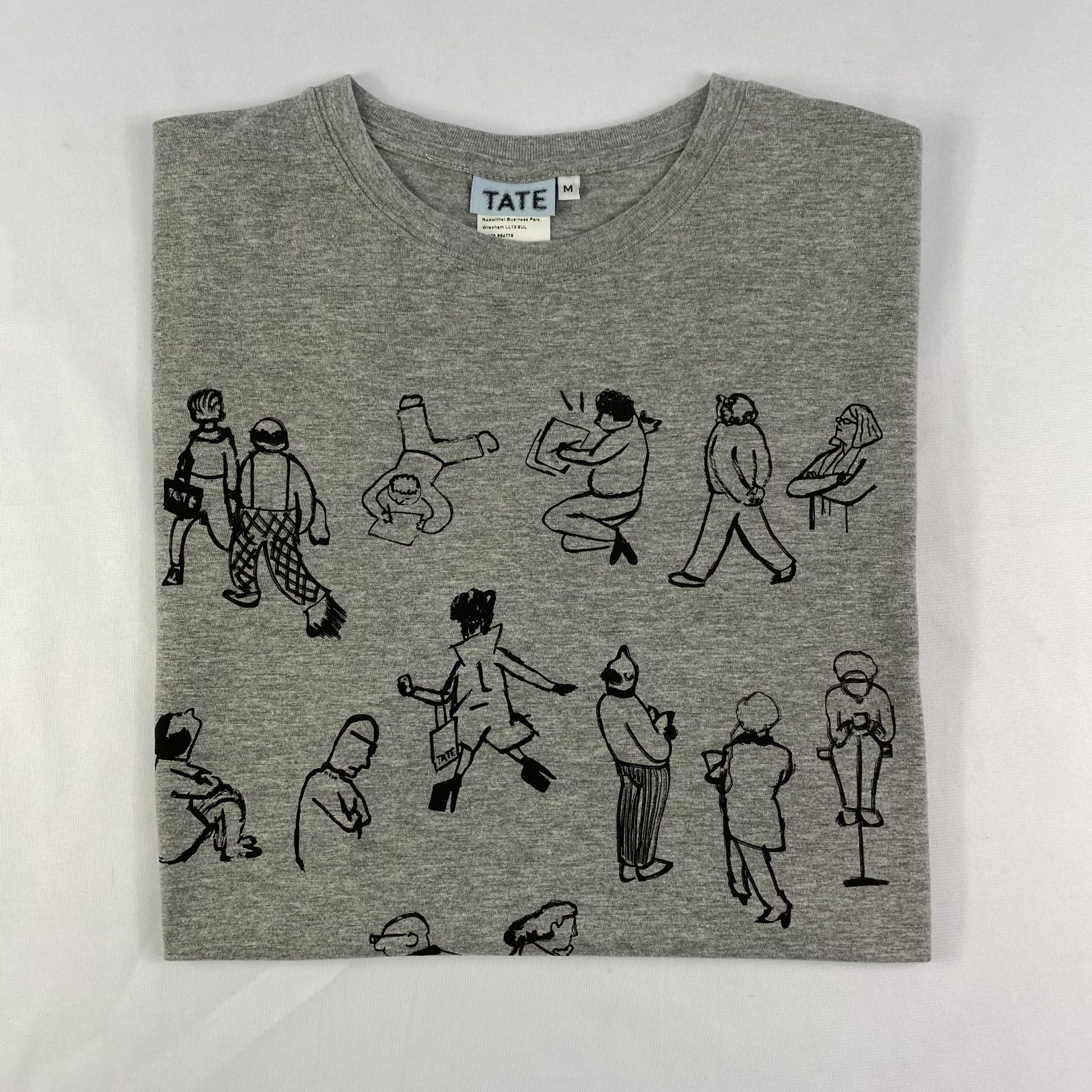 Tate t-shirt print on demand