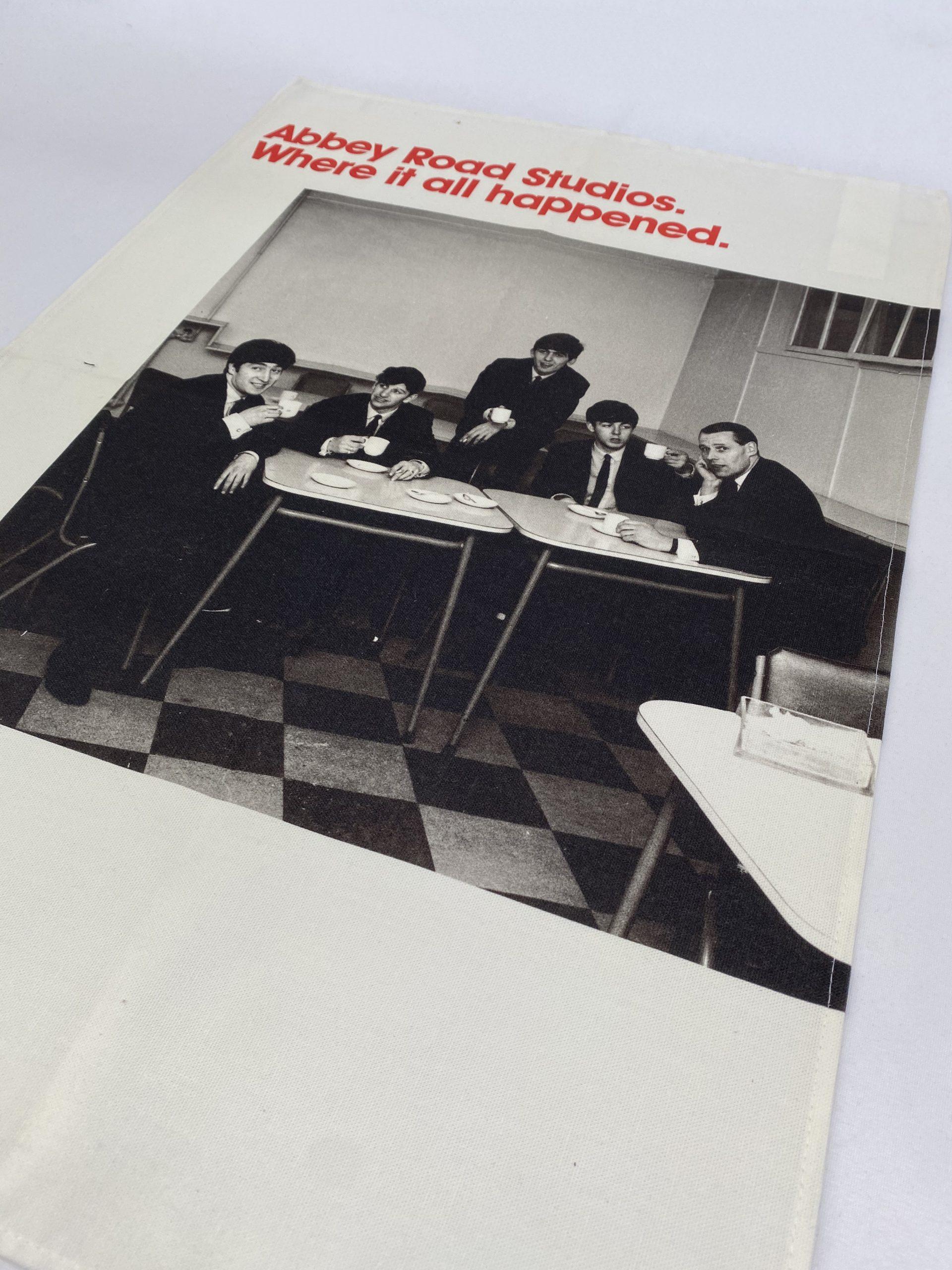 Abbey Road Where it all happened Beatles Bespoke Printed Tea Towel