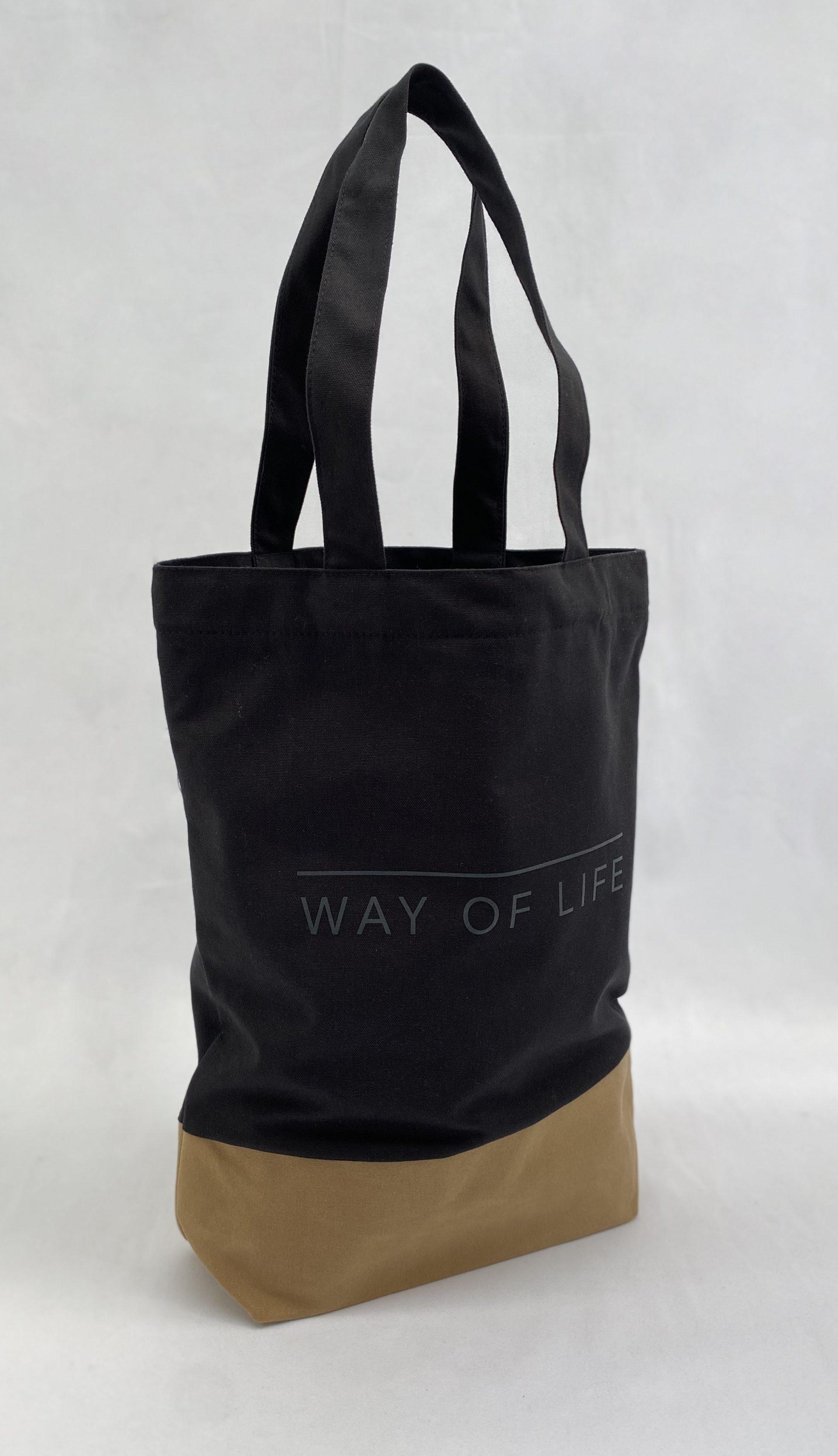 Here Designs screen printed tote bag