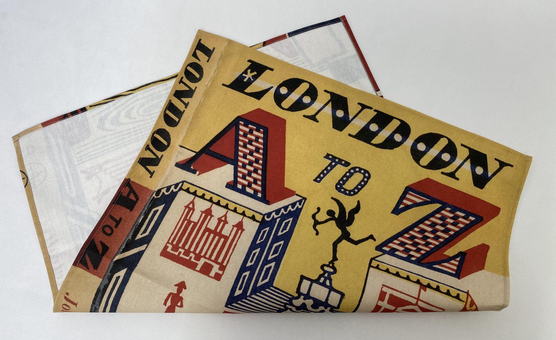 AZ London Bespoke Printed Tea Towel