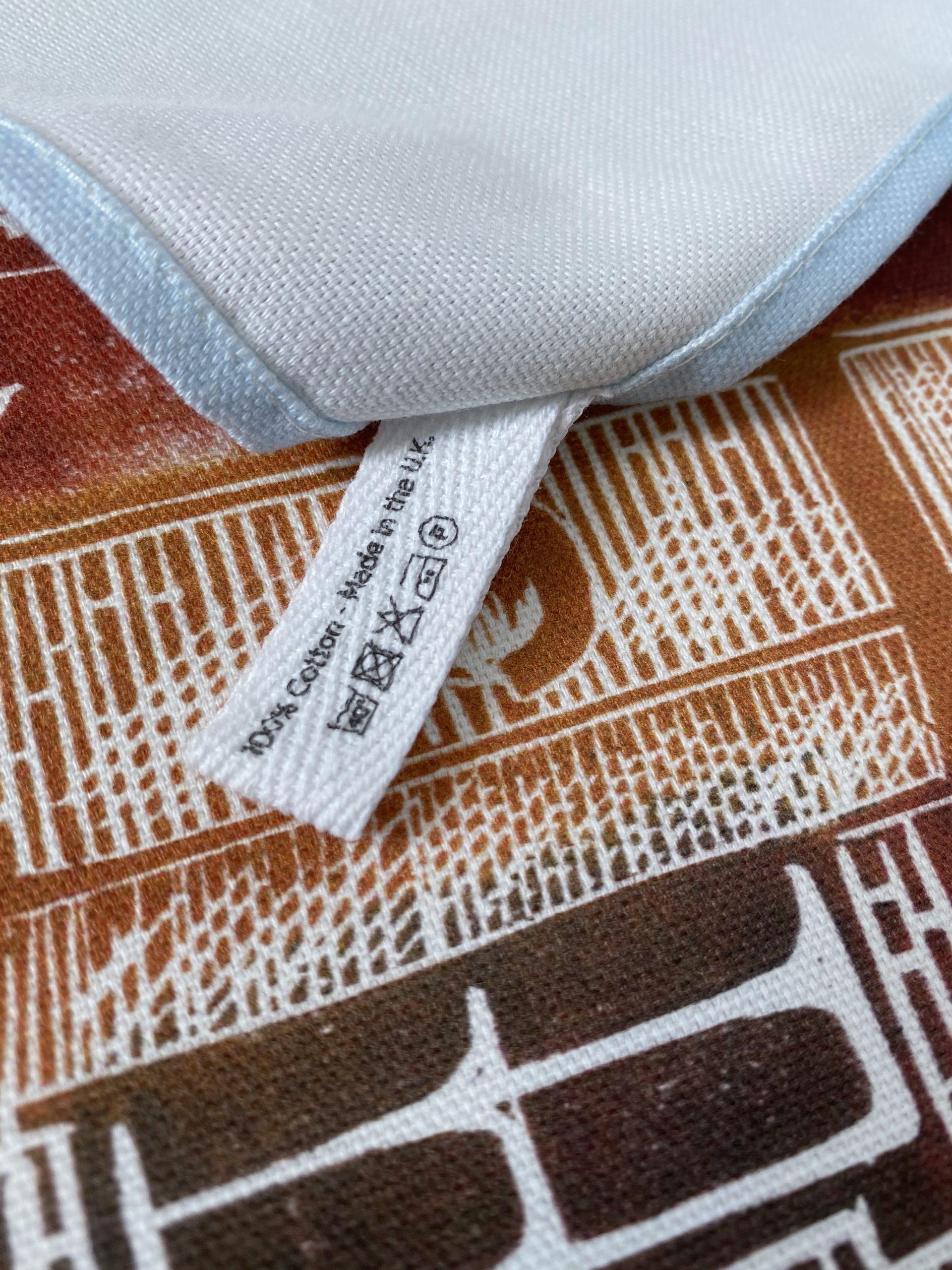 HRP Hampton Court Palace organic Tea Towel