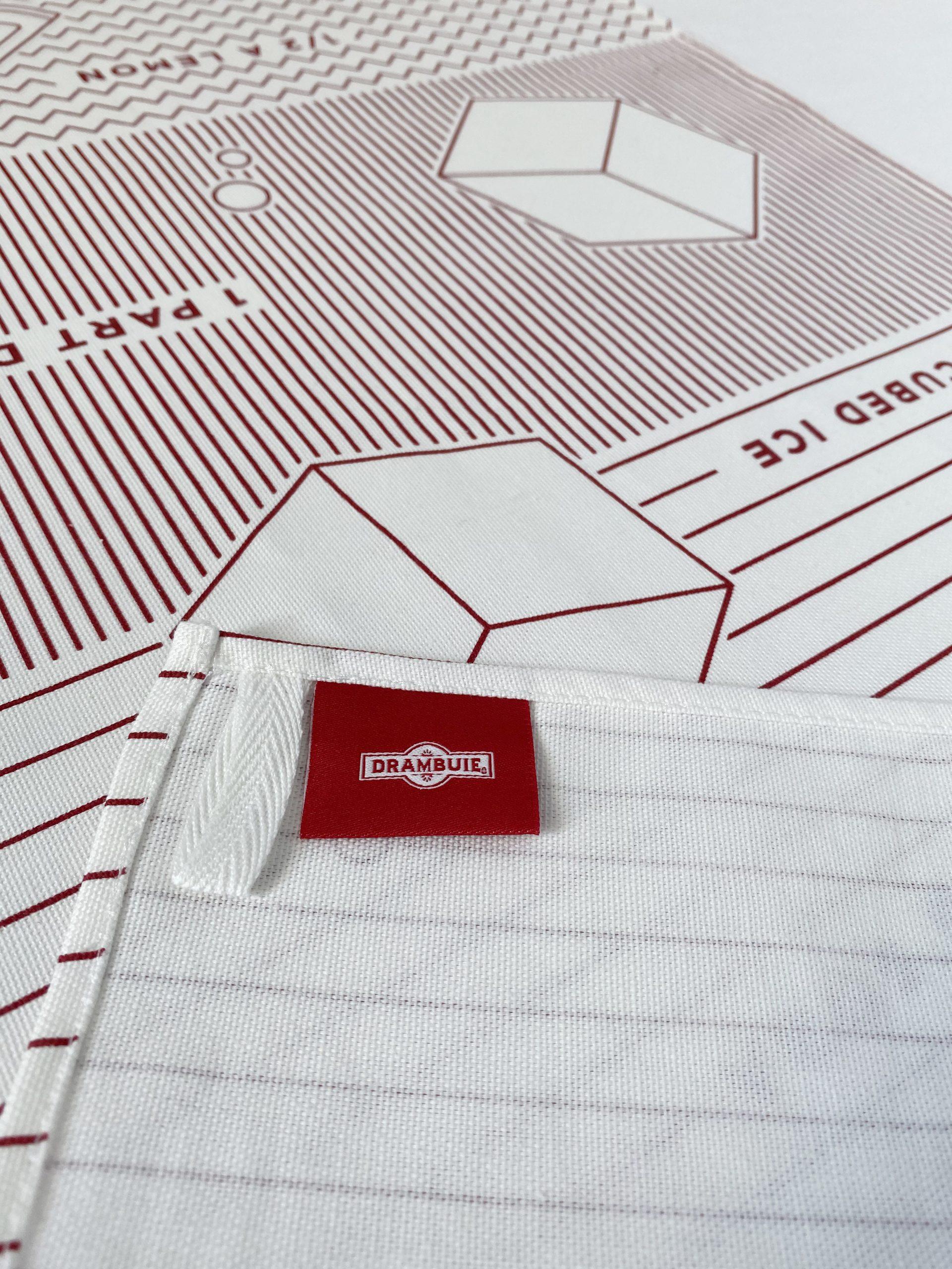 Here Designs Organic Tea Towel