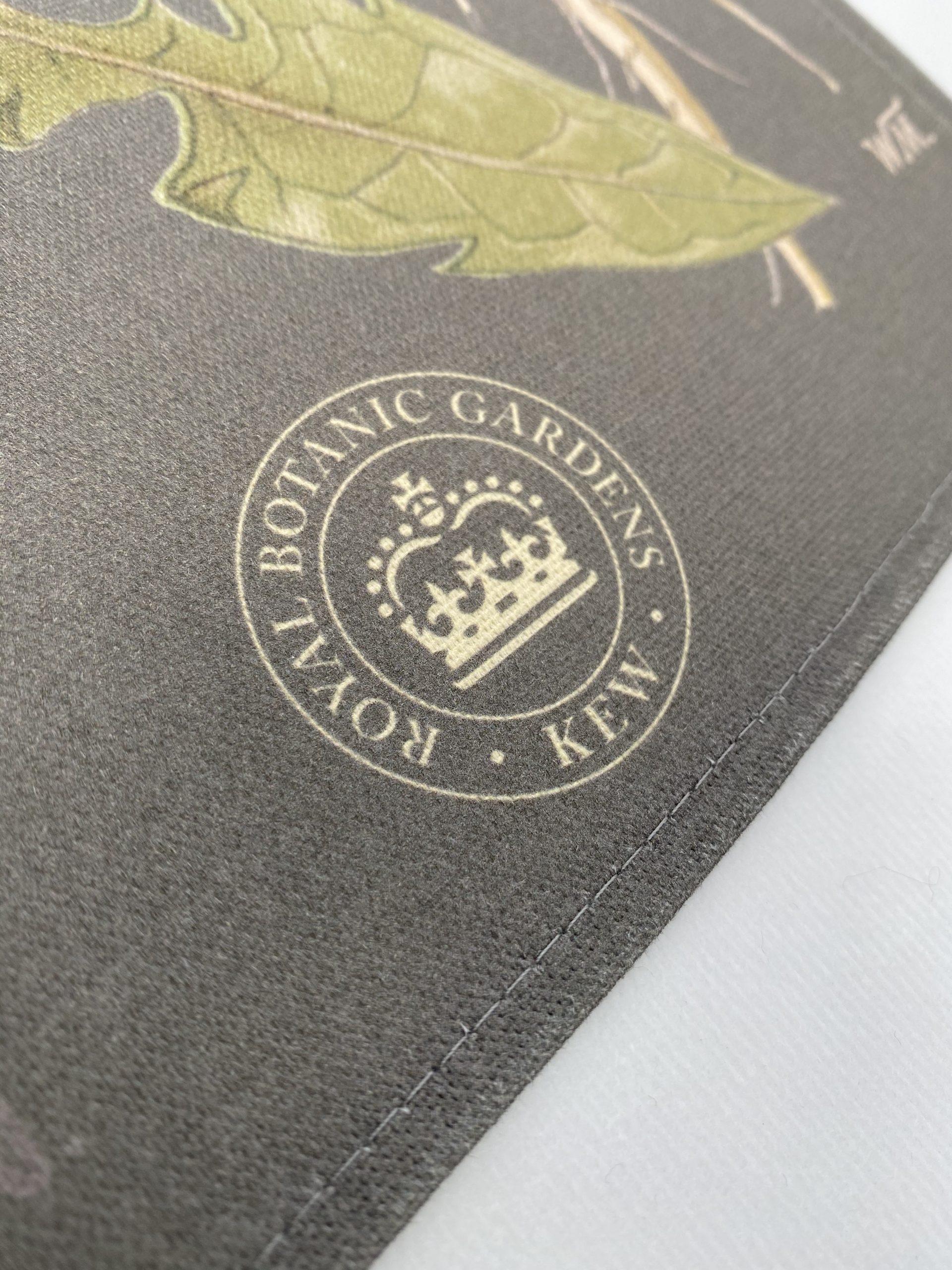 Kew Seeds organic Tea Towel