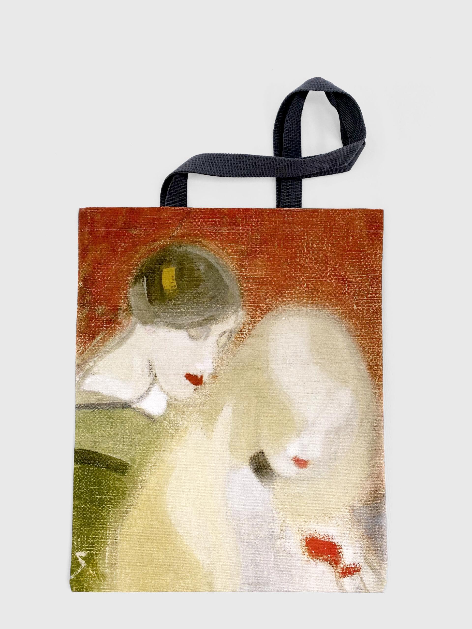 RA printed tote bag