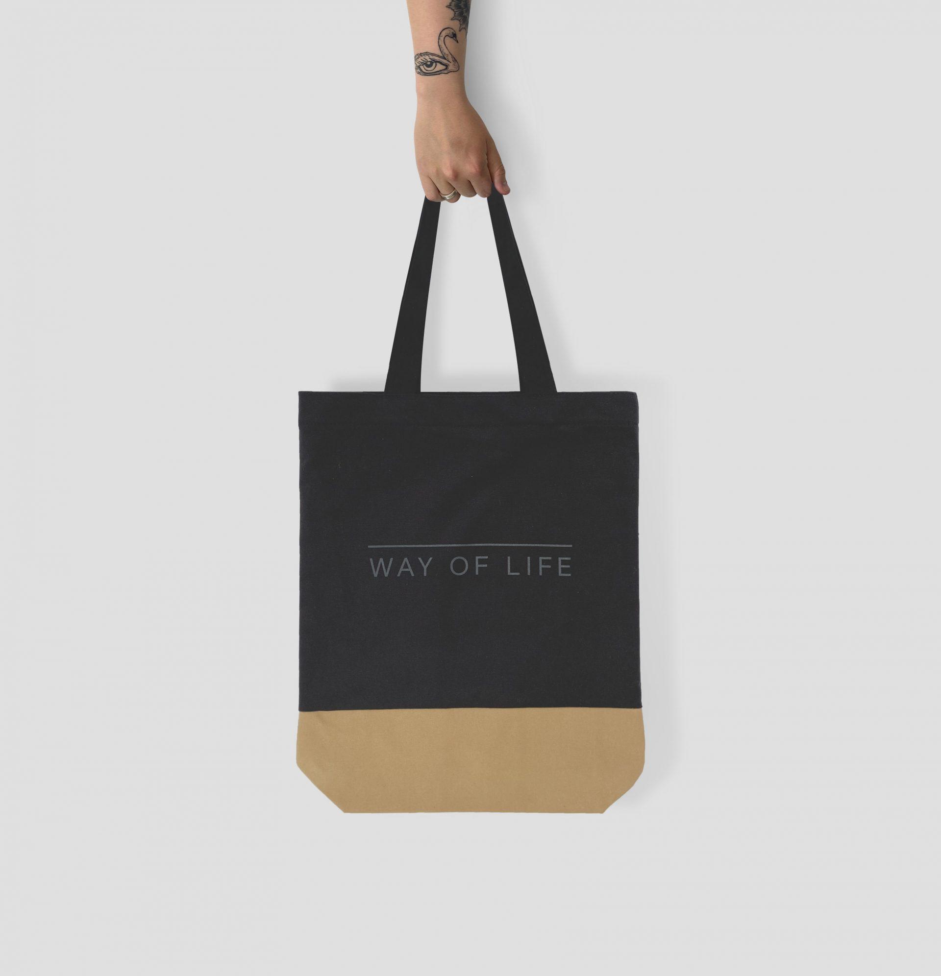 Here Designs tote bag