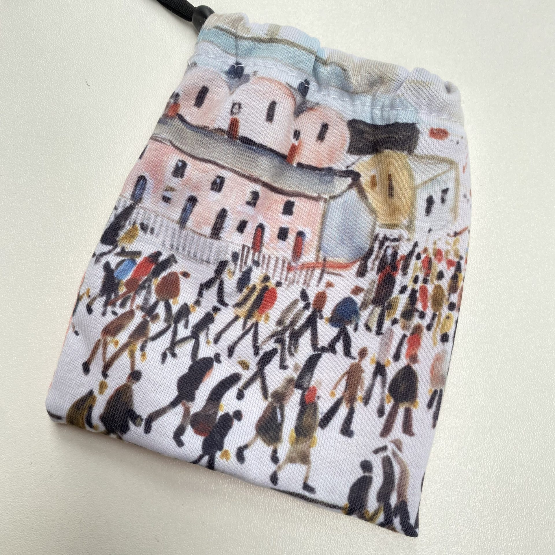 Lowry printed face mask bag