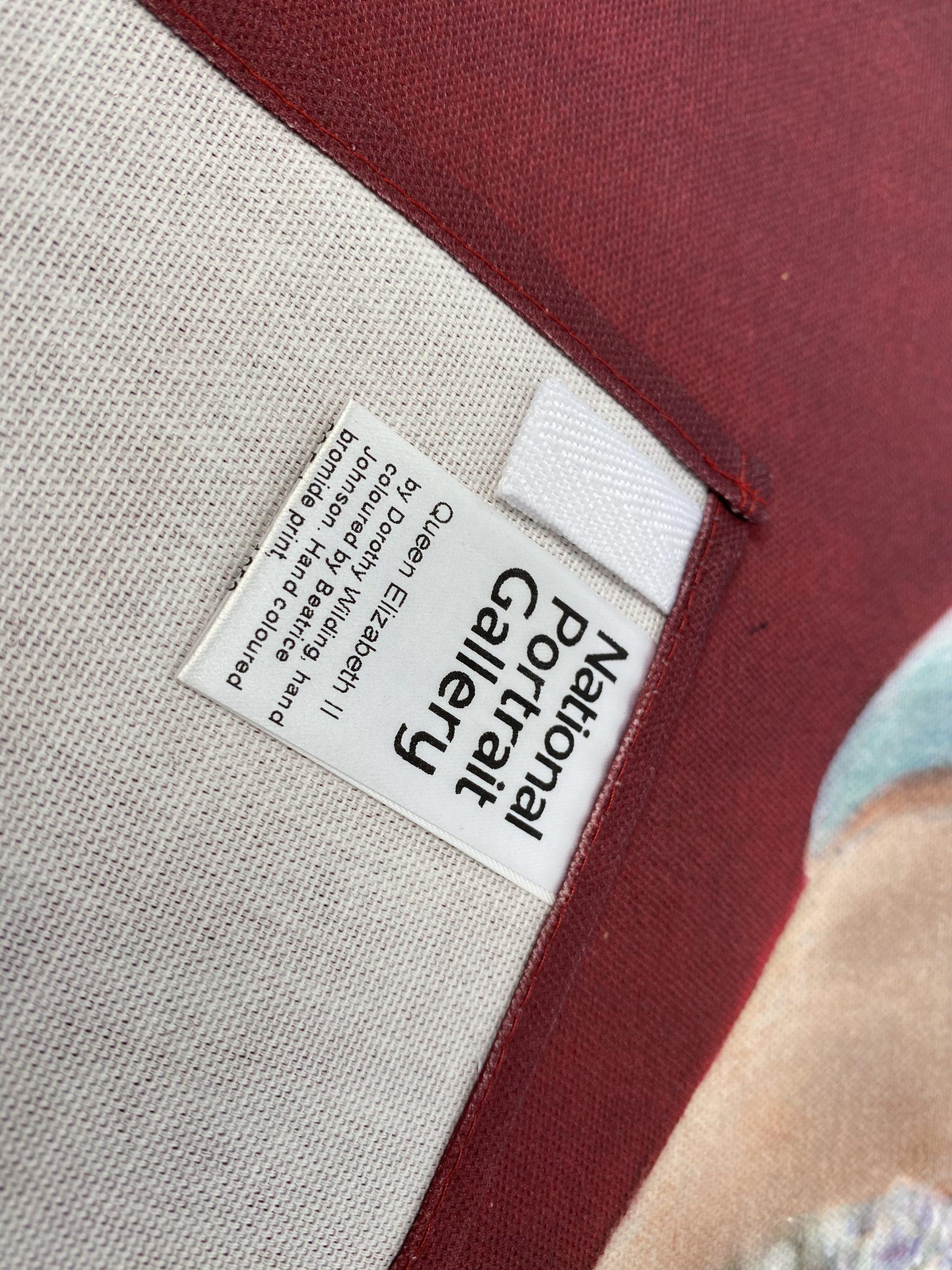Queen Elizabeth Organic Tea Towel