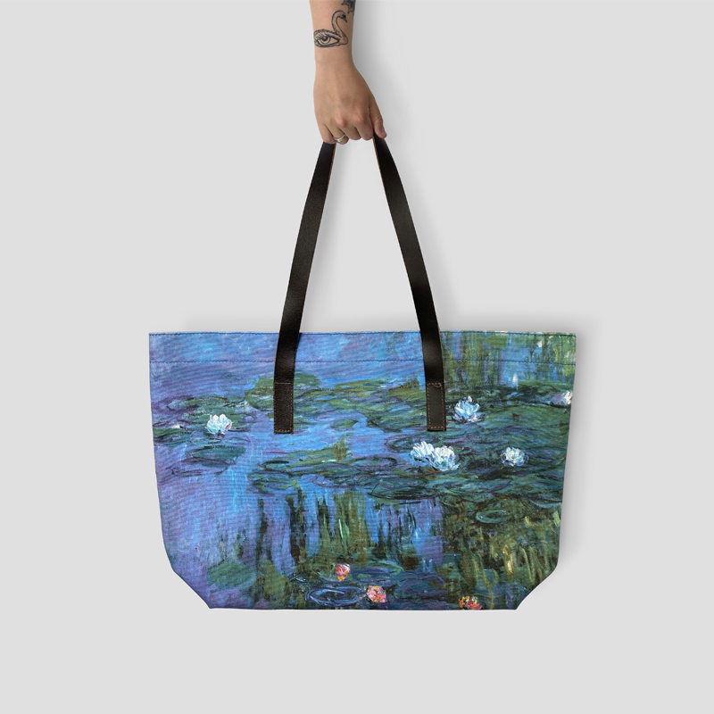 RA Monet Water Lilies tote bag