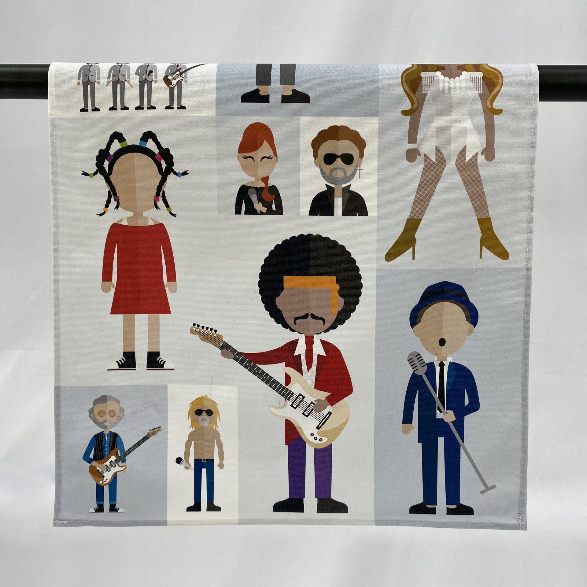 Royal Albert Hall Icons Organic Tea Towel