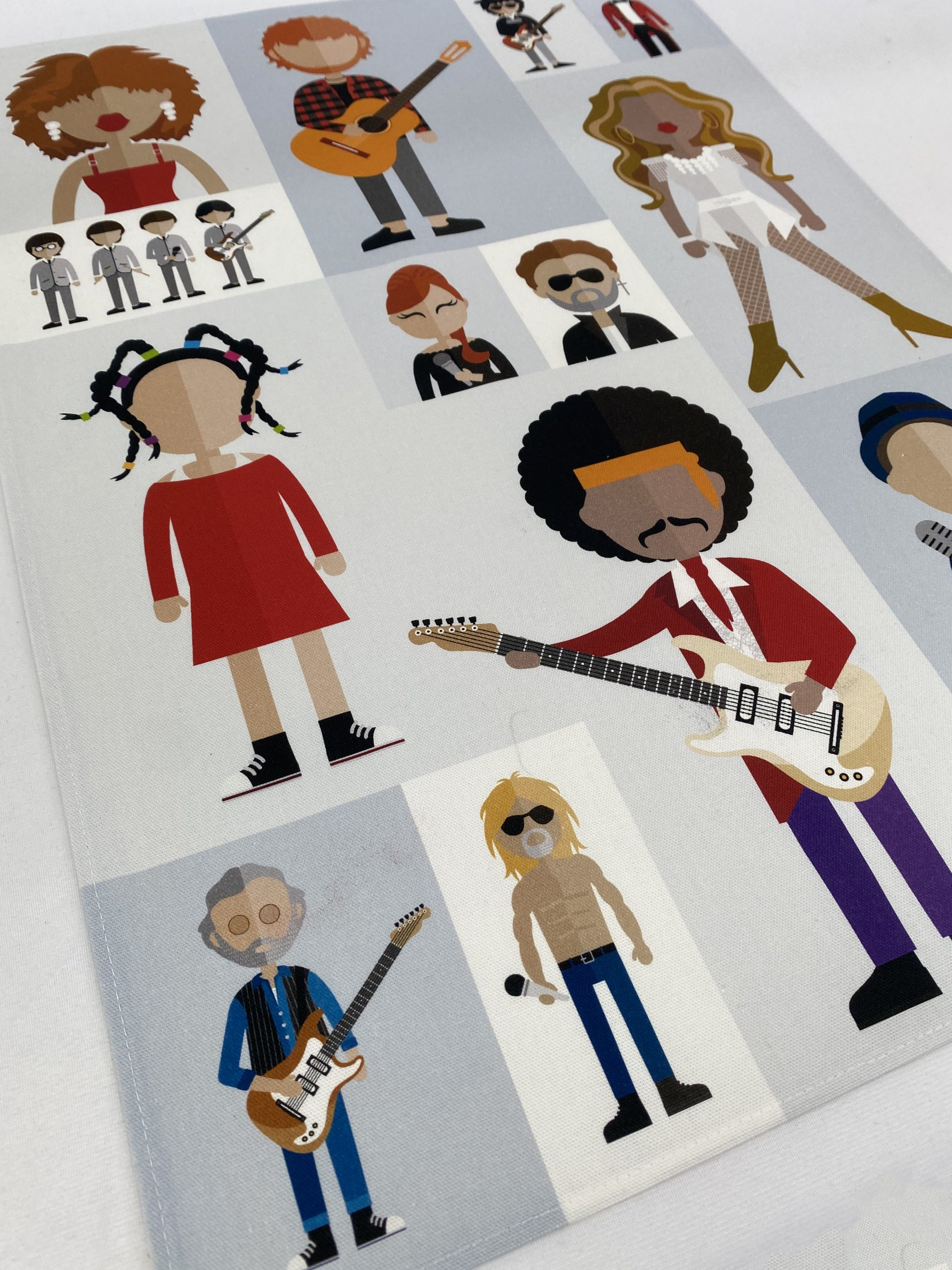 Royal Albert Hall Icons Bespoke Printed Tea Towel