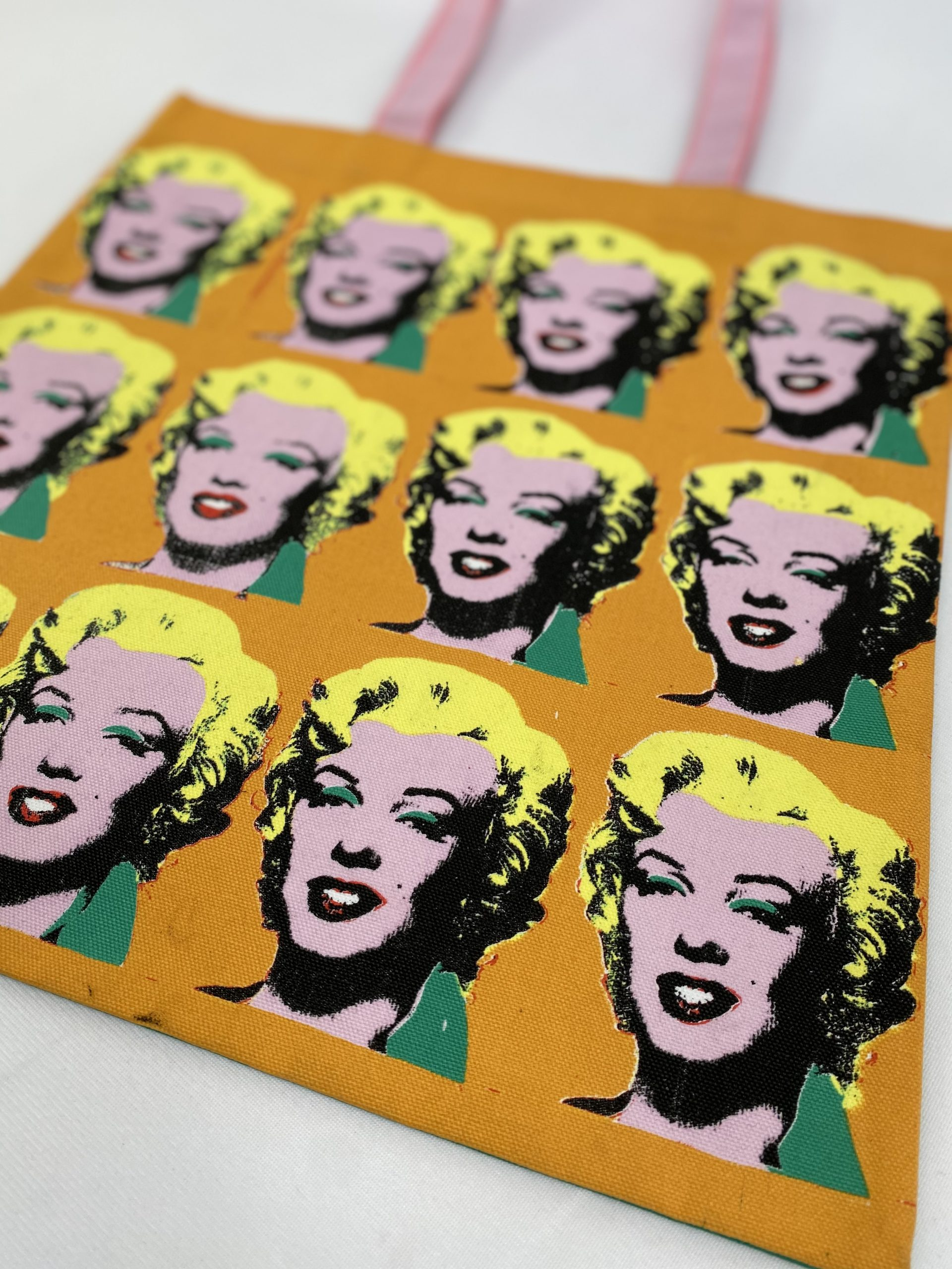 Tate Warhole printed tote bag