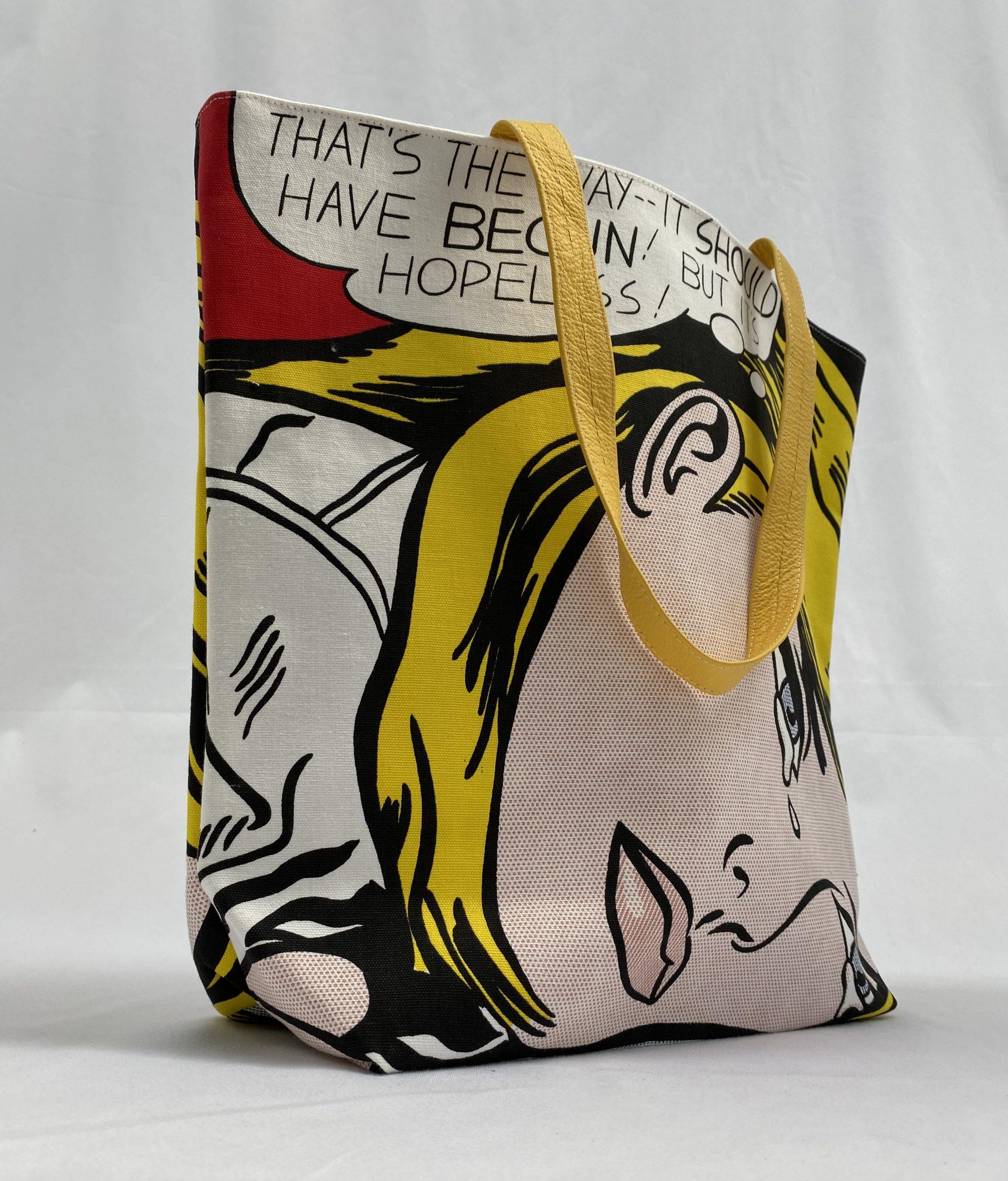 Tate Roy printed tote bag
