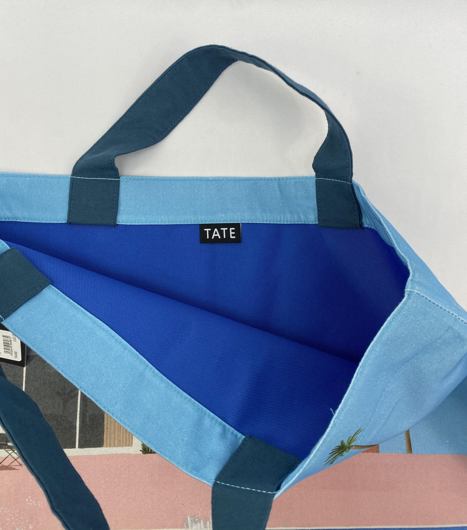 Tate David Hockney Exhibition tote bag