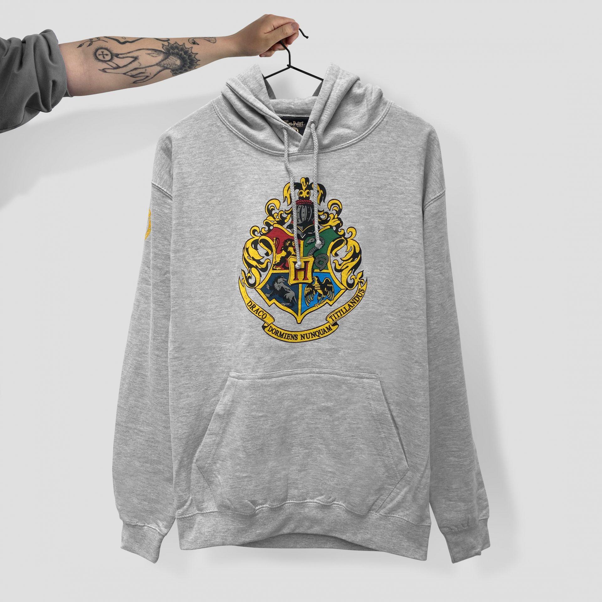 Screen printed hoodie by Paul Bristow