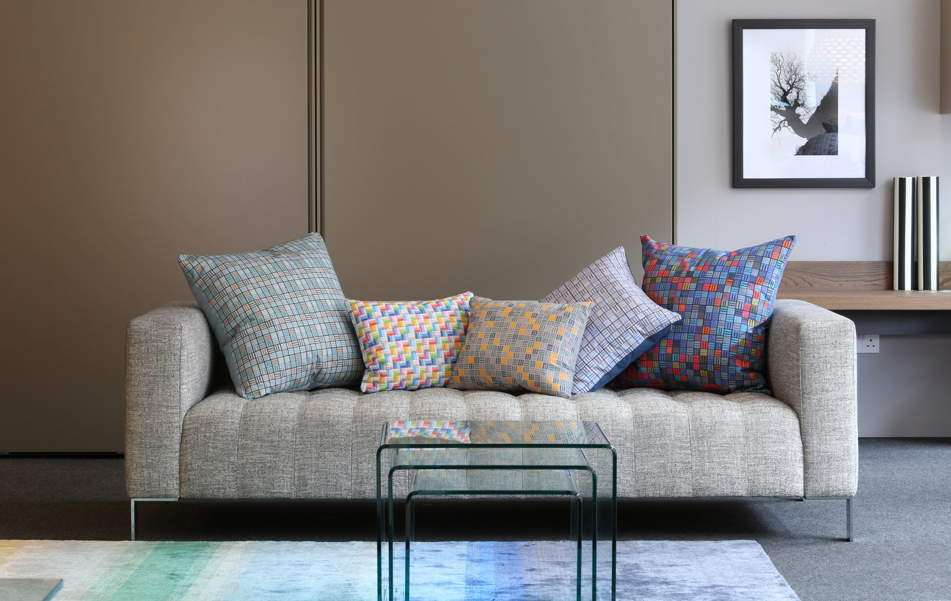 Maggie Bristow Collection Digitally Printed Cushion Covers Bespoke made in the UK