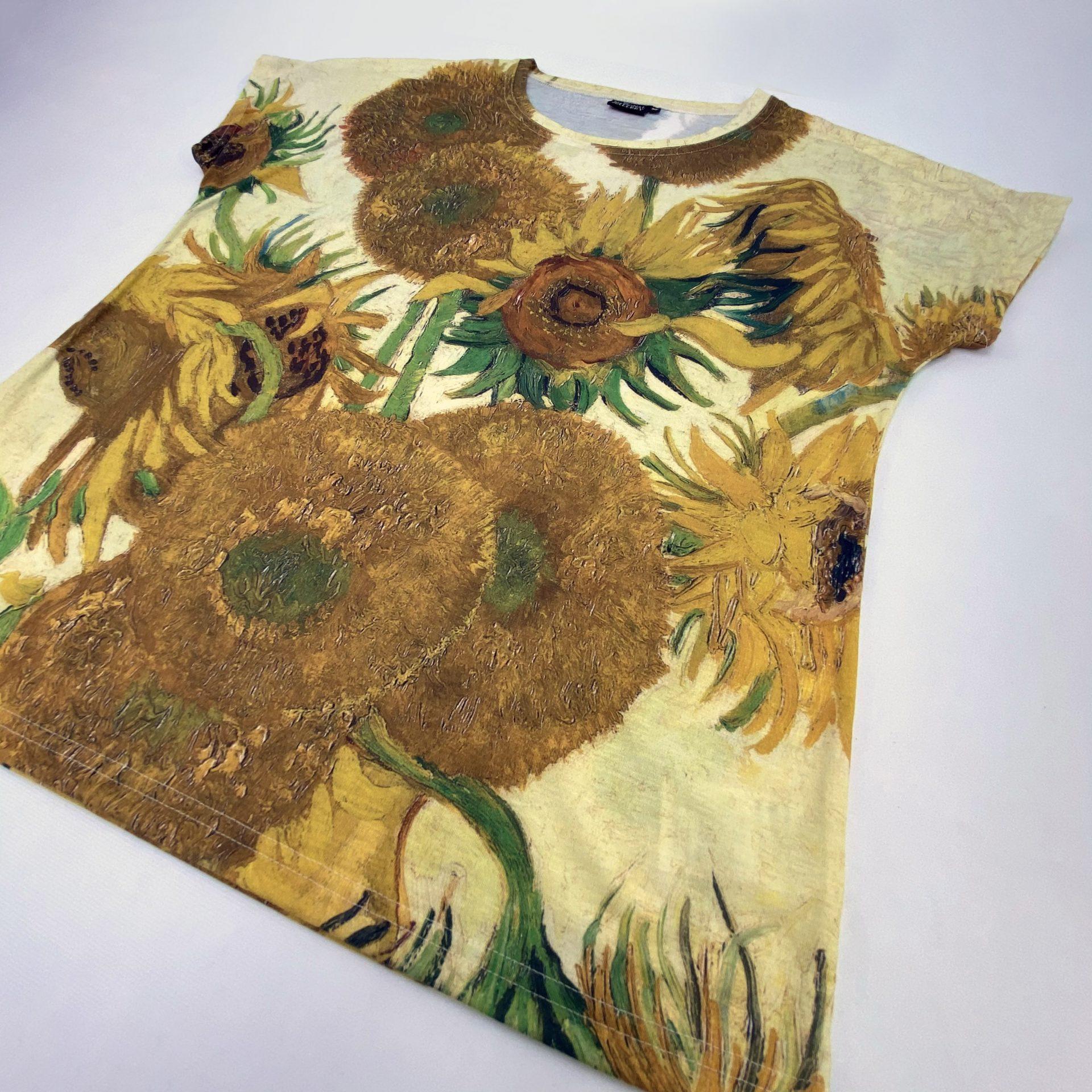Van Gogh Recycled polyester Bespoke t-shirts