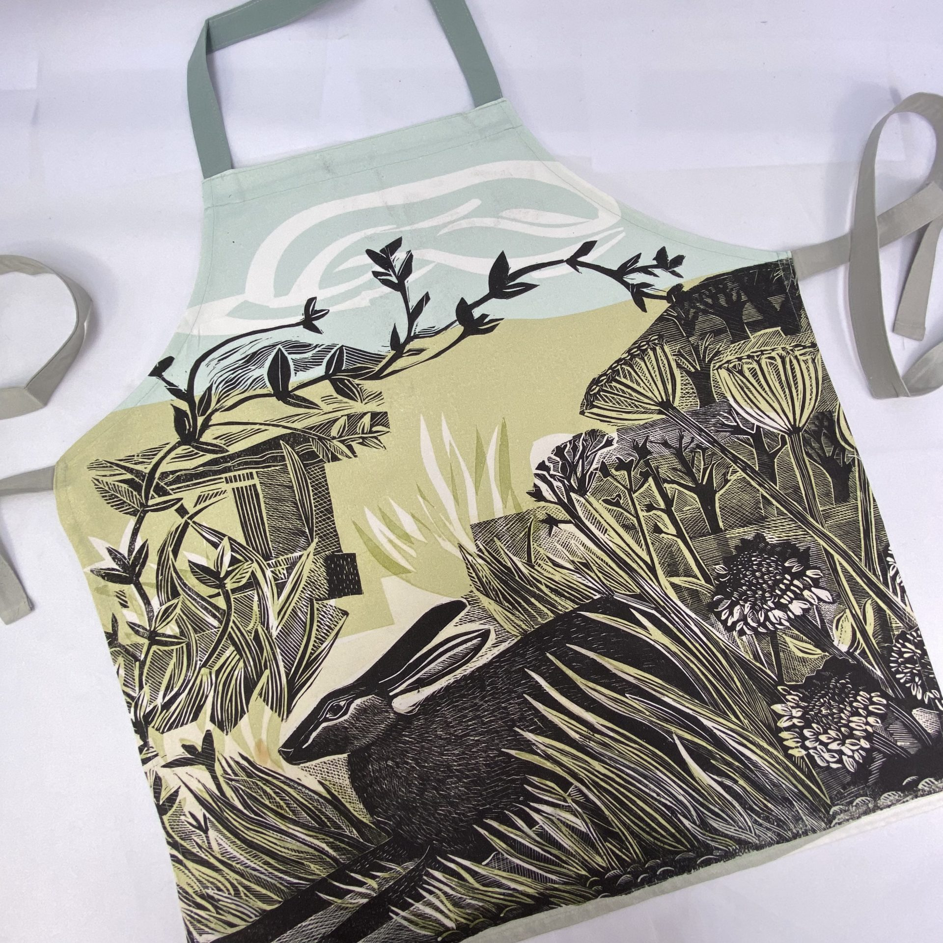 Screen printed textile merchandise by Paul Bristow