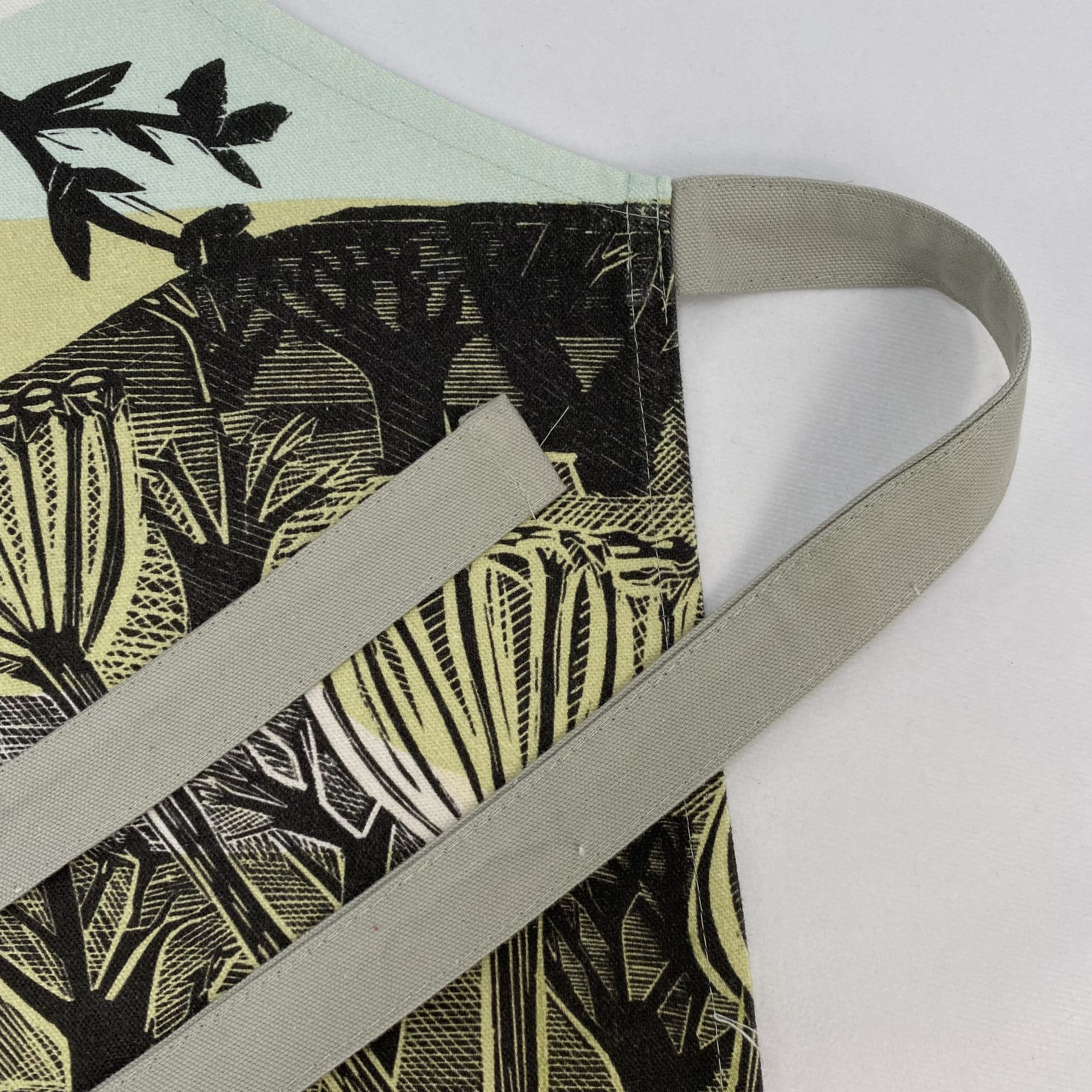 Screen printed textile merchandise for visitor attractions by Paul Bristow
