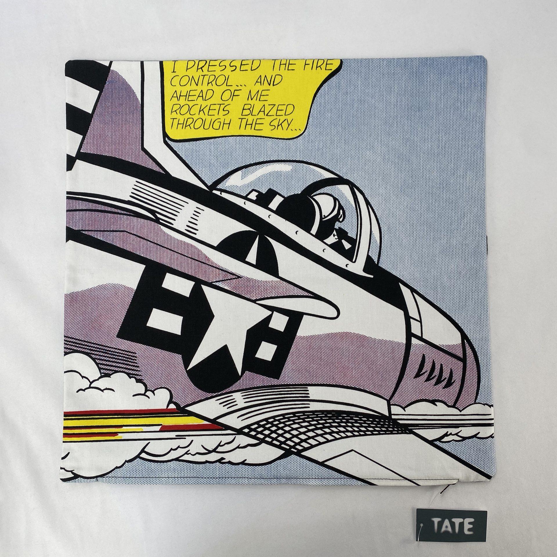 Tate Whamm Bespoke Cushion Cover Swing Tag