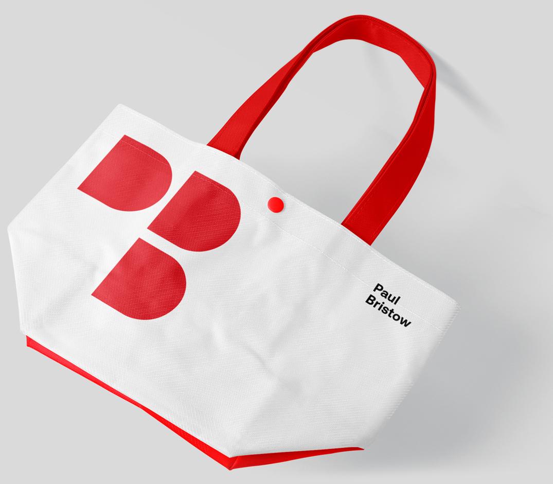 Paul Bristow Branded Tote Bag