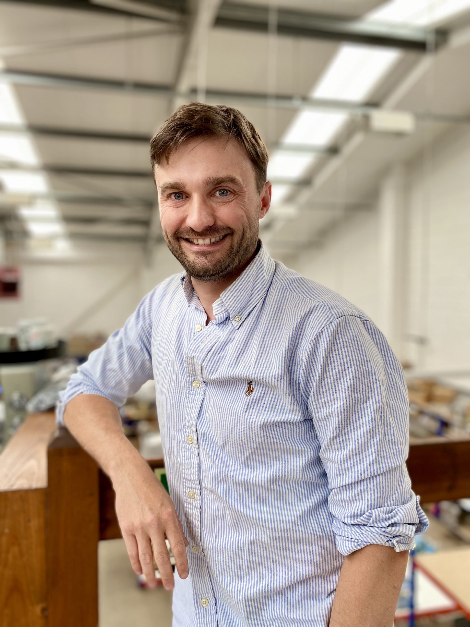 Ben Bristow is a director of Paul Bristow's a family run textile manufacture in the UK