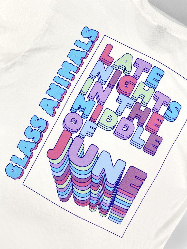 Universal Music – T-Shirt Printing – Glass Animals