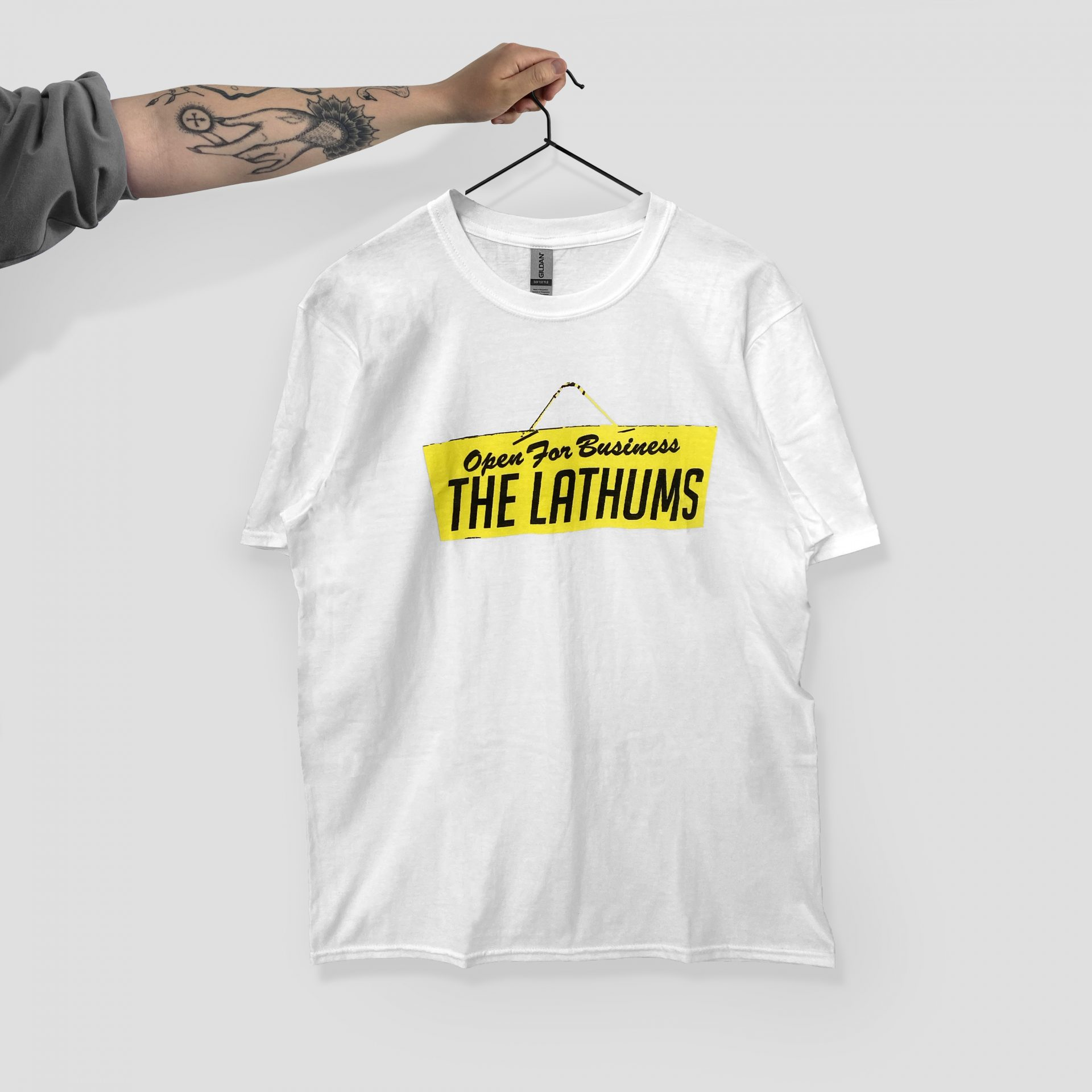 Universal music printe t-shirt by Paul Bristow's for The Lathums