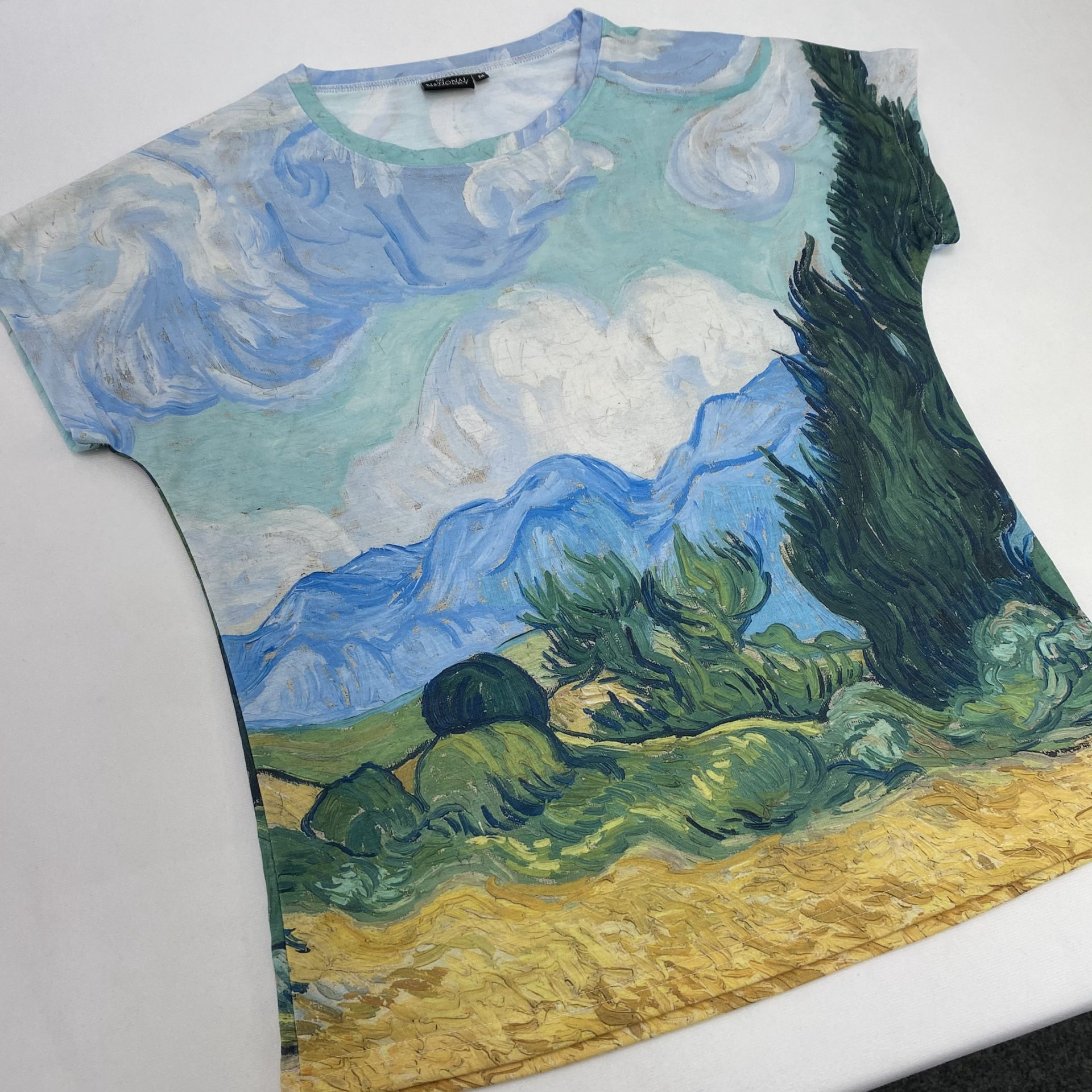 All over printed and UK made t-shirt by Paul Bristow