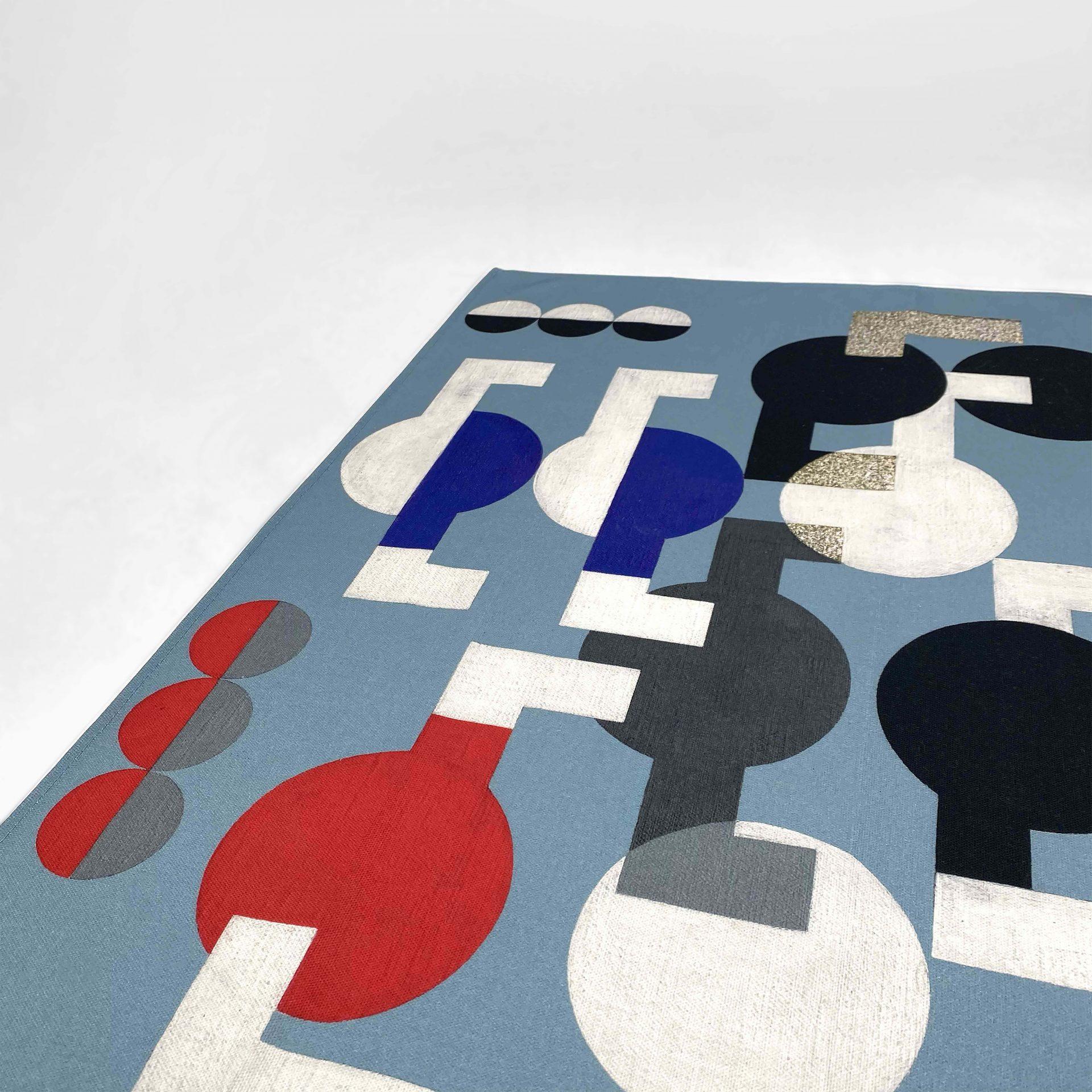 Digitally printed tea towel for Tate Enterprises