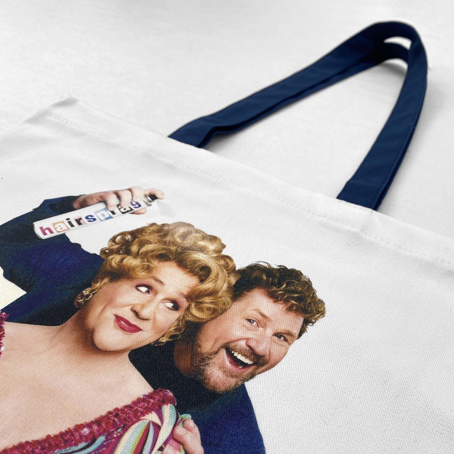 Digitally printed tote bag by Paul Bristow made in the UK