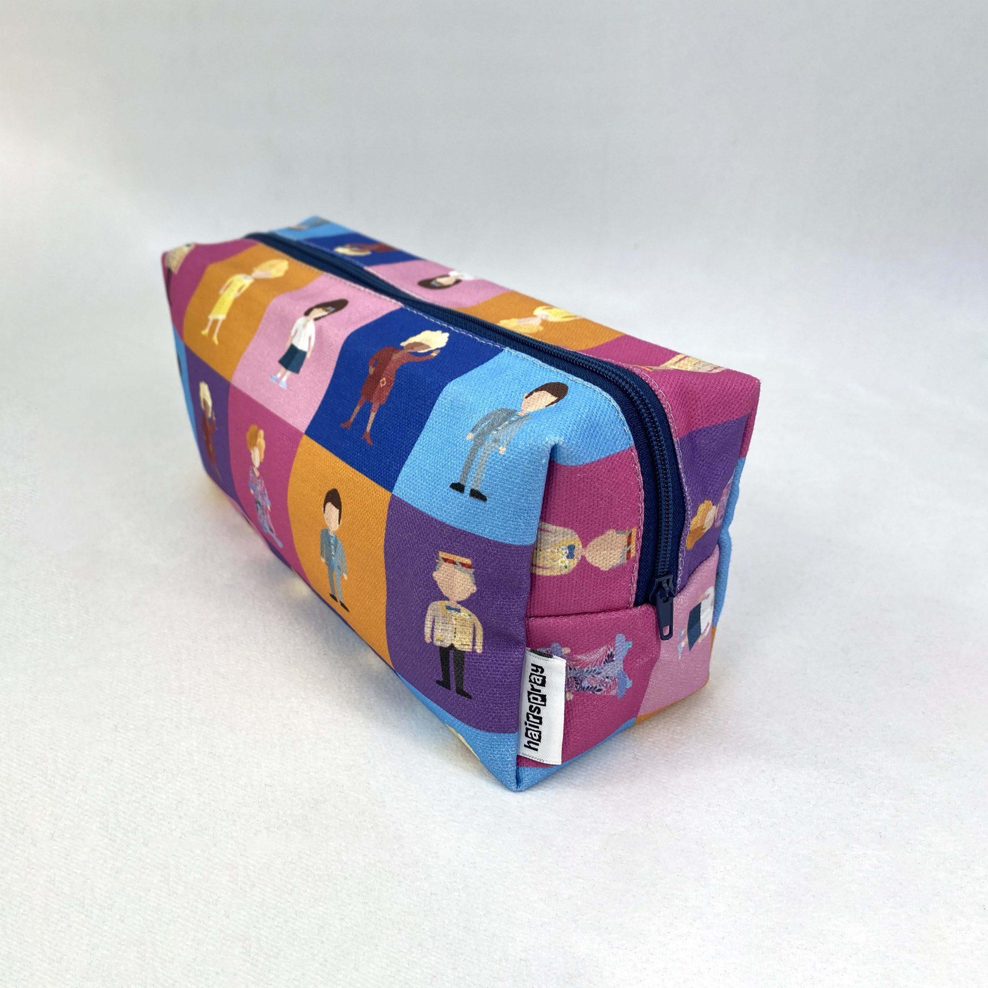 Printed Hairsoray cosmetic bag by Paul Bristows