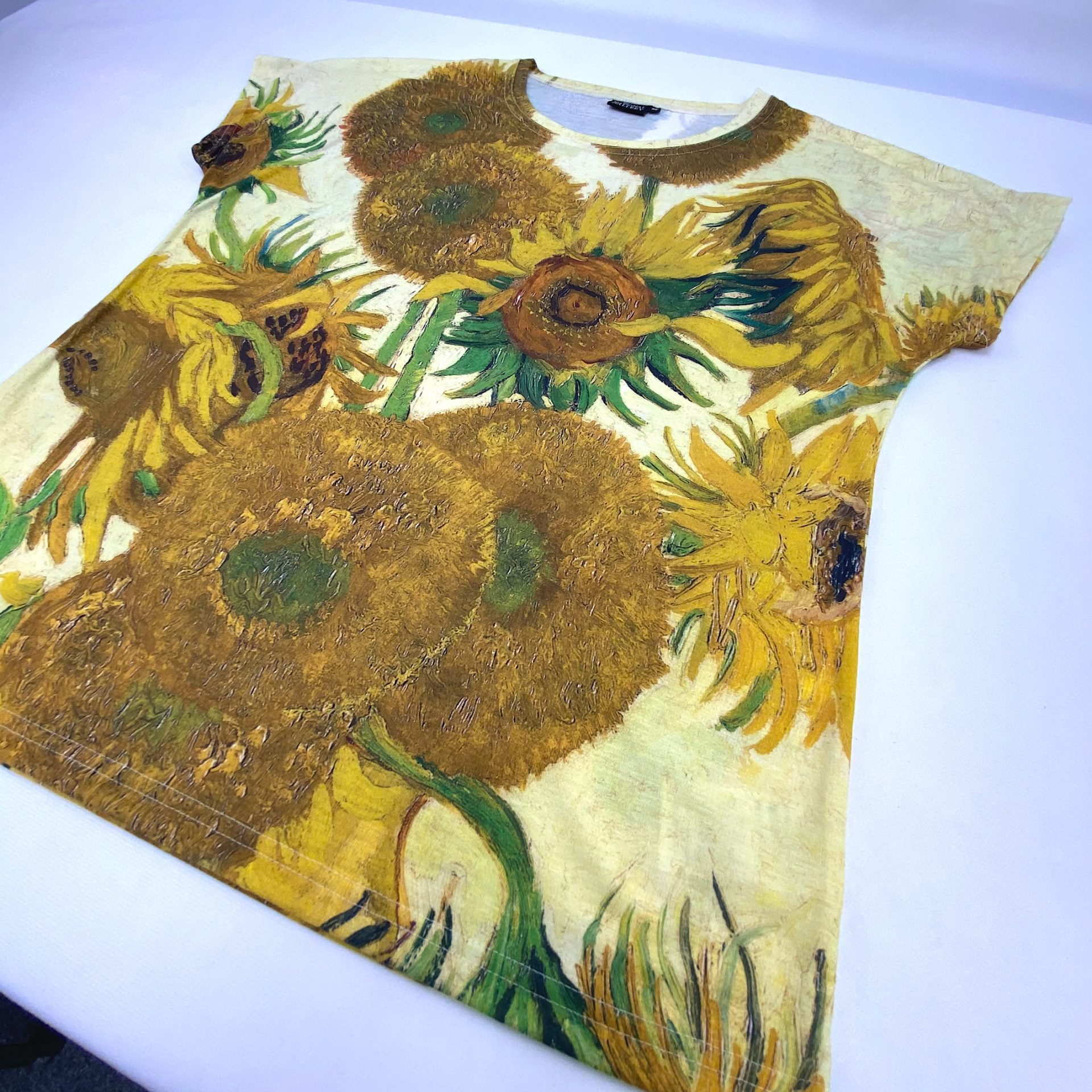 Sunflowers printed for the National Gallery by Paul Bristow